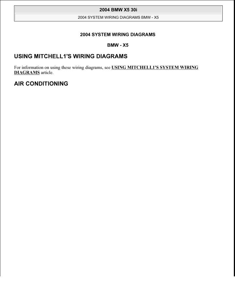 2004 bmw x5 system wiring diagram.pdf (1.99 MB) - User's manuals - English  (EN)BMW Club cz